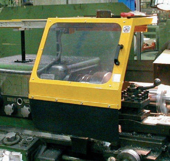 Protec Lathe Machinery Tools Protection Gruppo Sicura